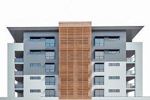 Modern Residential Building 03