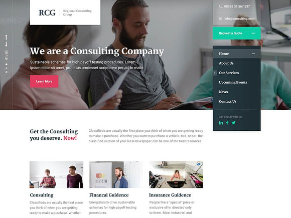 ConsultPress - Consulting Business