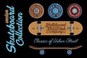 Vector Skateboard Collection