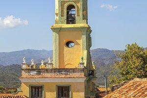 Bell tower in Cuba
