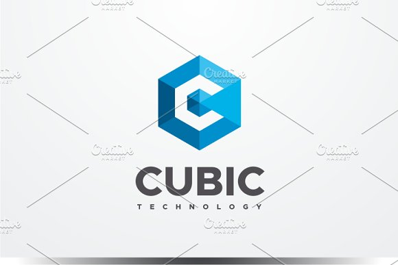 Cubic - Letter C Logo ~ Logo Templates on Creative Market