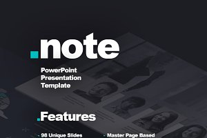 Note presentation template