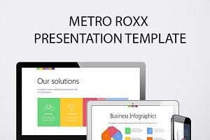 Metro Roxx PowerPoint template
