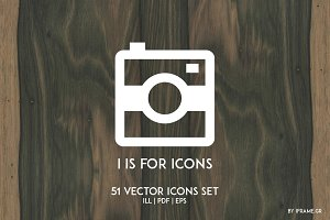 i is for icons
