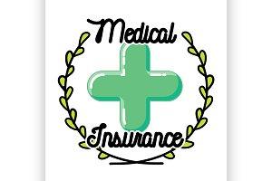 medical insurance emblem