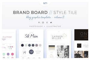 Brand Boards / Style Tiles VOL 2