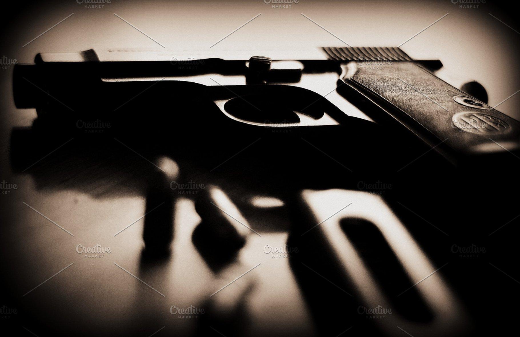 Gun, Bullet, and a Magazine