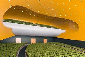 Modern Concert Hall 1000 seats