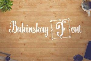 Bakinskay Handmade Font Brush