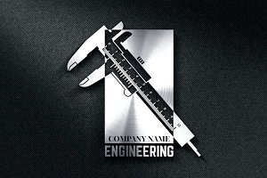 Engineering Company Logo Template