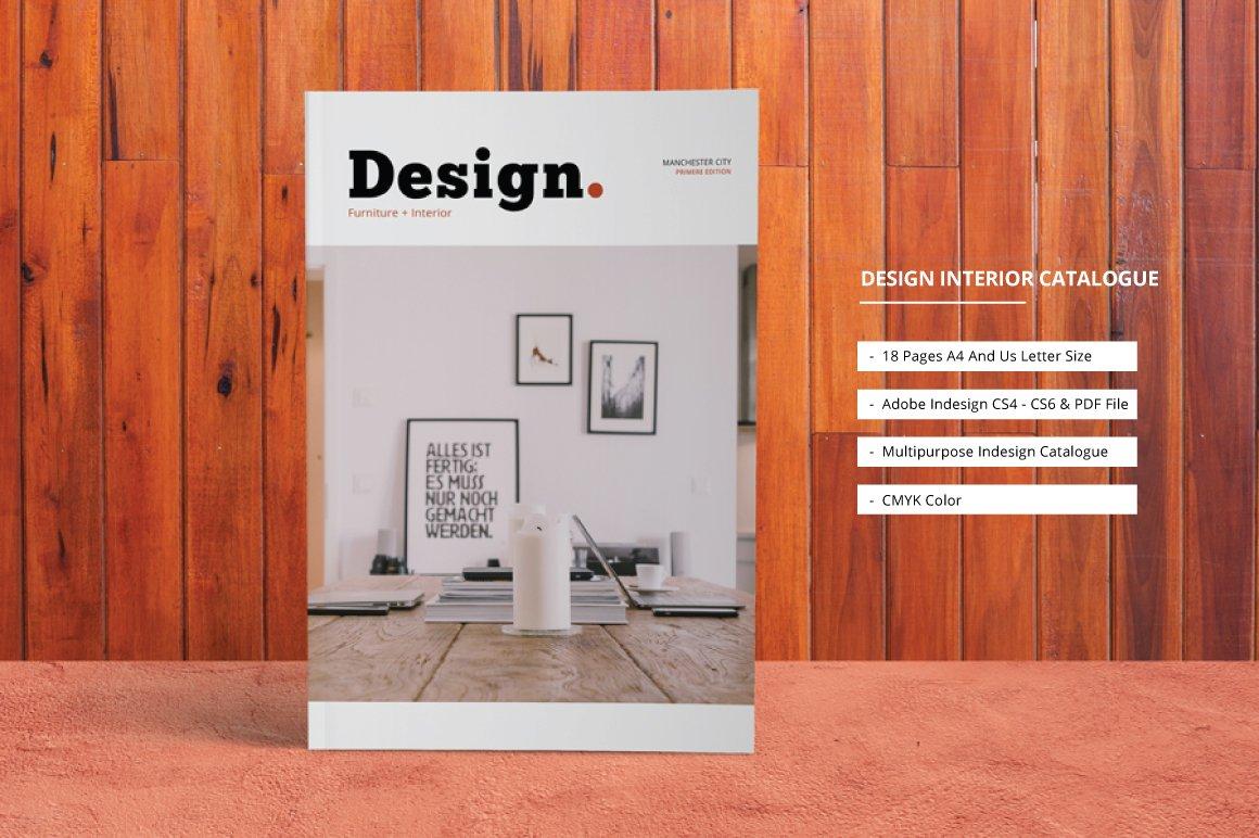 Design interior catalogue brochure templates creative Pros and cons of being an interior designer