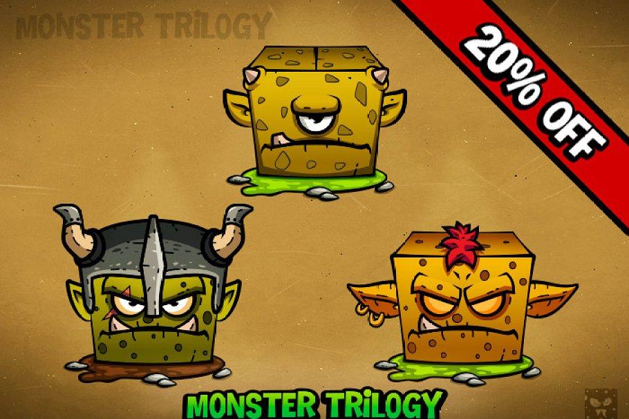 RPG Cartoon Characters - 2d game art ~ Illustrations ~ Creative Market
