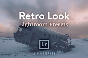 3 Lightroom Presets - Retro Look