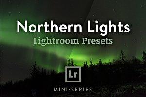 3 Lightroom Presets Northern Lights