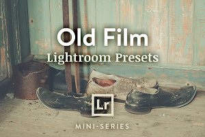 3 Lightroom Presets - Old Film