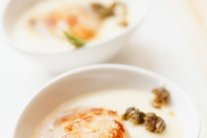 Grilled sea scallop