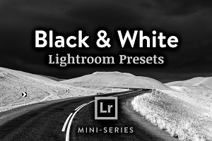 3 Lightroom Presets - Black & White