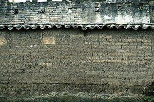 Grunge style brick wall