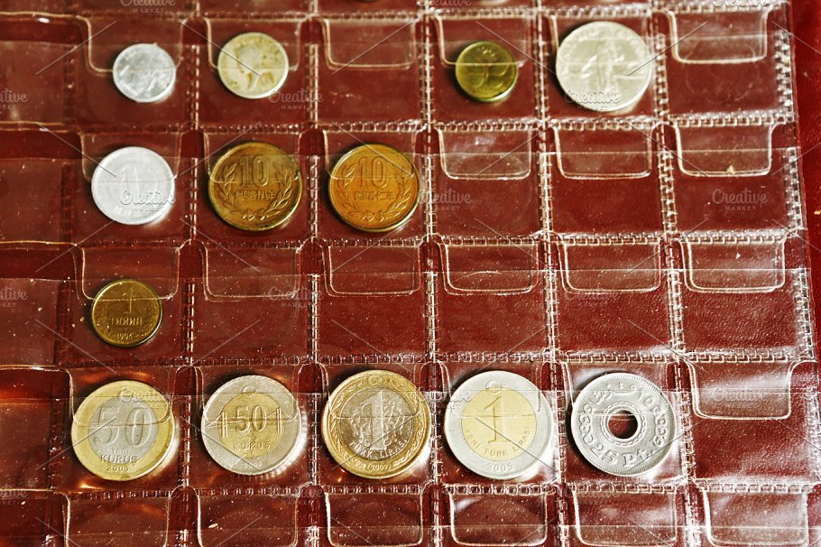 Coin Al Collection From Diffe Countries Business