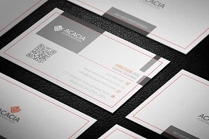 Shadow Effect Business Card