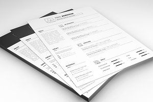RESUME WITH CV (TWO STYLE)