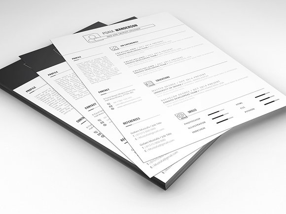 RESUME WITH CV