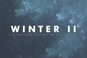 Winter II - Fractal Background Art