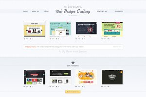 Web Design Gallery - PSD Template