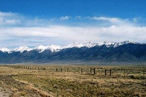 Colorado Snow Mountains