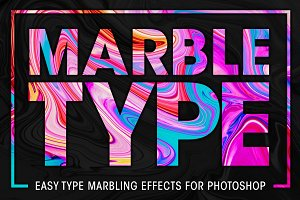 Marble Type for Photoshop