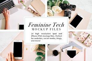 Feminine Tech Mockups