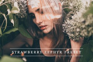 Strawberry zephyr - Lightroom preset
