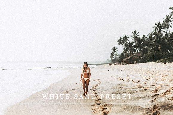 White sand - Lightroom preset