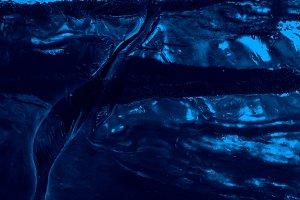 Dark Blue Glacier Ice (Background)