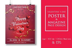 Valentine`s Day Poster
