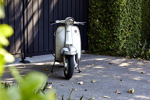 Old Lambretta Scooters