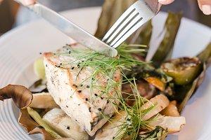 Yummy Fish Plate