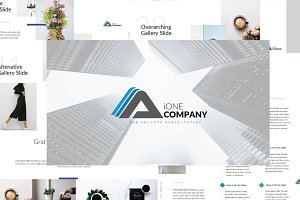 iOne Business Keynote Template
