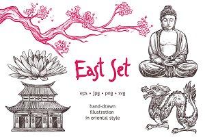 Sketch Oriental Set