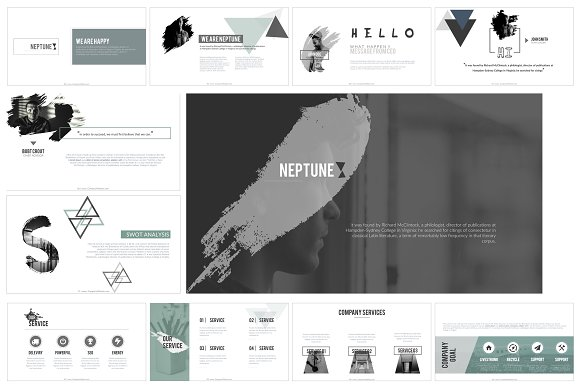 Neptune Keynote Template