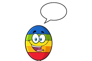 Mexican Maracas With Speech Bubble