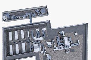 Rooftop ventilation equipment