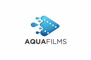 Aqua Films V.2 | Logo Template
