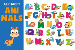 Cute Alphabet Animals