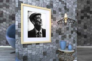 Brick Photorealistic Frame Mockups