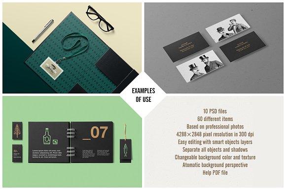 corporate stationery mock up product mockups creative market