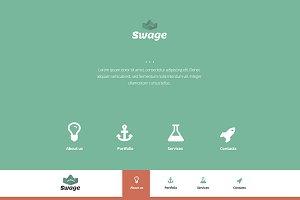 Swage Portfolio - HTML5, CSS3