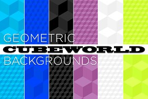 Cubeworld Seamless Pattern Tiles