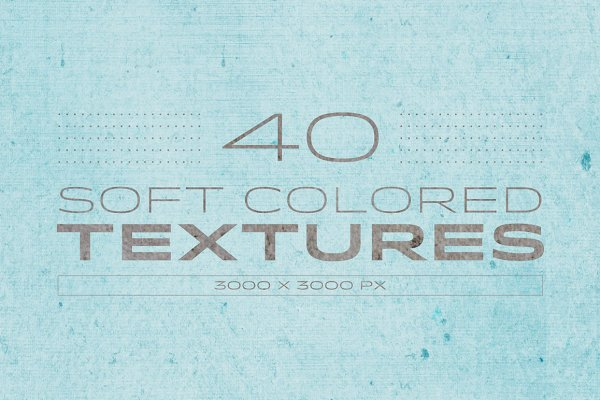 Soft Colored textures