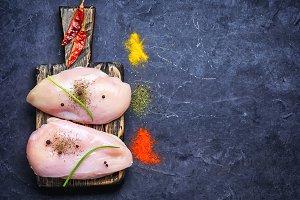 breast chicken meat